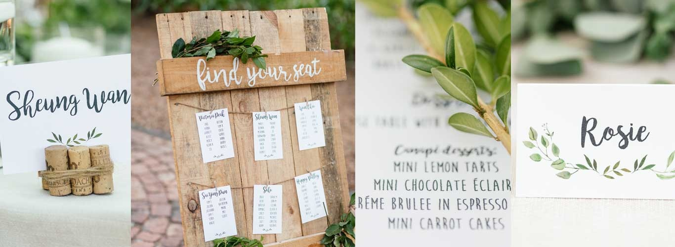 Green leaves wedding stationery banner 1366x500 - Home